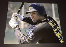 Josh Bell Signed Pittsburgh Pirates 8x10 Photo COA