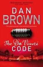 The DA VINCI CODE DI DAN Marrone libro tascabile 9780552159715 NUOVO