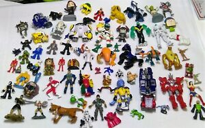 Action figure toy mixed lot 71 plastic vintage DC Marvel star wars hero z+
