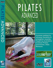 Pilates Advanced Fitness Yoga Instructional DVD NEW