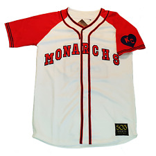 Kansas City Monarchs Customized Baseball Jersey Jackie Robinson Satchel Paige