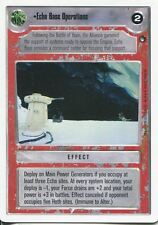 Star Wars CCG Hoth White Border Echo Base Operations