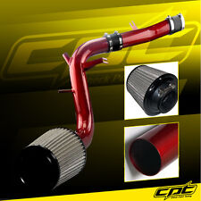 13-16 Veloster Turbo 1.6L 4cyl Red Cold Air Intake + Stainless Air Filter