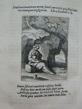 EMBLEMATA Speculum Peccatorum Aspirantium 1637 E.O. 17 emblèmes de P. de JODE