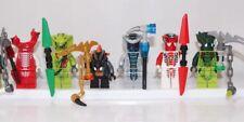 LEGO NINJAGO SNAKE MINIFIGS: FANGDAM LASHA BYTAR RATTLA FANG SUEI LIZARU Serpent