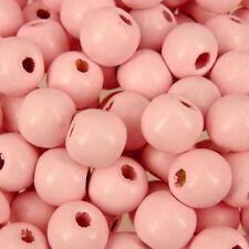Perline sfuse di legno rosa