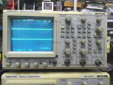 Used 1 Pc Iwatsu SS-7810 Digital Direct Reading Oscilloscope Tested uo