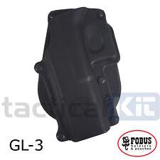 New Fobus Glock 20 21 Paddle Holster UK Seller (Airsoft) Left Handed GL-3 LH