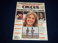 1976 OCTOBER 12 CIRCUS MAGAZINE - STARSKY & HUTCH - MUSIC CENTERFOLD - B 1741