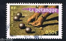1 FRANCOBOLLO FRANCIA LE BOCCE 2003 usato