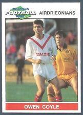 PANINI SCOTTISH FOOTBALL 92-#022-AIRDRIEONIANS-OWEN COYLE