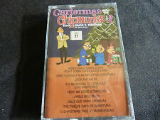 CHRISTMAS WITH THE CHIPMUNKS VOL 2 ULTRA RARE SEALED CASSETTE TAPE!