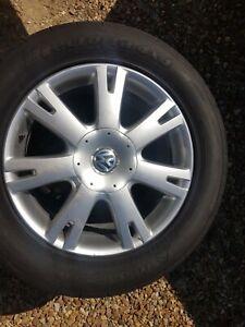 """VW Touareg 18"""" 7 spoke """"VALLEY"""" Alloy Wheel Set of Four"""