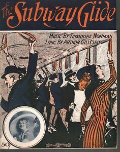 Subway Glide 1912 Carrie Reynolds Sheet Music