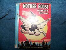 1938 Mother Goose Nursery Rhymes
