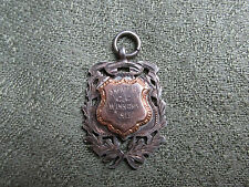 Silver Cycling Medal / Fob. 1913. Kimber Cup. Streatham Cycling Club.  E.Dovey.