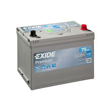 1x Exide Premium 75Ah 630CCA 12v Type 030 Car Battery 4 Year Warranty - EA754