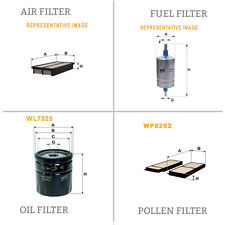 WIX AIR POLLEN OIL & FUEL Filter Service Kit WA9529,WP9282,WL7323,WF8373