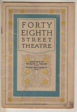 "Lucile Watson    ""The Nest""   Broadway Playbill  1922"