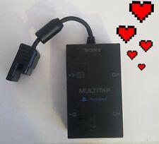 🔥 Original Sony PlayStation 2 PS2 Slim Multitap Controller Adapter RARE L👀K⬇️