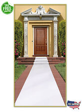 Wedding Carpet Runner White Party Anniversary Marriage Floor Decor Aisle Rug