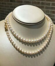 """30"""" AA Quality Mikimoto 6.5mm Pearl Necklace"""
