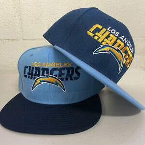 Los Angeles Chargers Snap Back Cap LA Hat Embroidered Adjustable Flat Bill