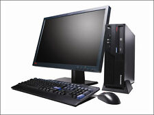 Fast Lenovo ThinkCentre SLIM COMPUTER DESKTOP MONITOR PC WIFI a basso prezzo SET COMPLETO PC