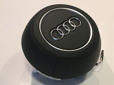 New Genuine Audi A3 S3 TT TTS TTRS R8 Leather Steering Wheel Airbag 8S0880201 AM