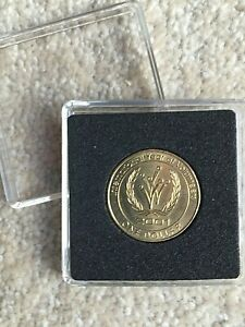 Unusual 20th Birthday Gift-2001 Australian Birth  ONE DOLLAR coin. MINT Present.