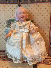 ~ Wonderful!Antique German Bonnet Head Child Doll On 5pc Body ~