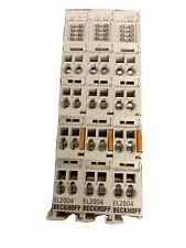 beckhoff EL2004 4 x Digital Output 24V DC