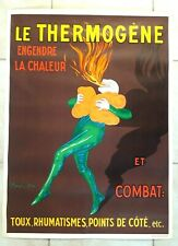More details for le thermogene. antique poster / affiche ancienne by leonettto cappiello. 1950s.
