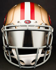 SAN FRANCISCO 49ers NFL Football Helmet with MIRROR Visor