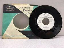 THE LIDOS BASHANOVA/ MARINA 45 RPM - RADIO PROMO  MERCURY..NEAR MINT-EXCELLENT