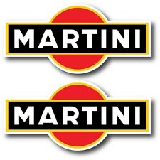 2X MARTINI DECAL STICKER 3M US MADE TRUCK CAR VEHICLE WALL RACING MOTORSPORT