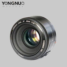 Yongnuo YN50mm YN 50MM F/1.8 Large Aperture AF / MF Lens for Canon EF Mount EOS