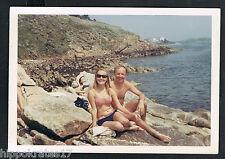 FOTO PHOTO blonde Frau Mann Bademode people swimwear personnes plage (80) bikini