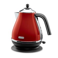 Delonghi Electric Kettle 1.0L ICONA Red KBO1200J-R AC100V With Tracking NEW
