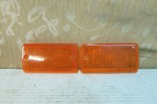 2 New Old Stock GENUINE FORD ESCORT MK1 Mexico FRONT SIGNAL LAMP LIGHT LENSES
