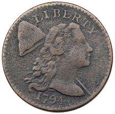 С изображением Свободы с распущенными волосами (1793 - 1796 гг.)