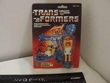 Hasbro Transformers G1 Seaspray 1990 Autographed Alan Oppenheimer AFA 85