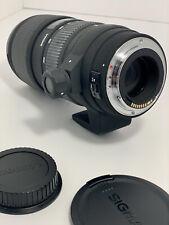 Sigma DG 70-200mm f/2.8 HSM EX DG APO Lens For Canon
