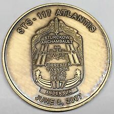 N117     NASA  SPACE  SHUTTLE  COIN /  MEDAL,     ATLANTIS,   STS-117