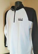 HOLLOWAY A-L-S MEMORIAL OPEN BENEFIT PULLOVER V-NECK SWEATSHIRT GOLF  SIZE LARGE