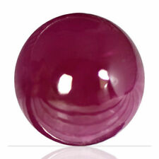 Good Cut Round Loose Natural Rubies not Star Ruby