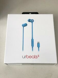 Beats by Dr. Dre - urBeats3 Earphones with Lightning Connector - Blue