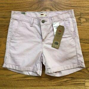 Levi's Womens Shorts Classic Short Lilac Purple Size 27 NEW $39
