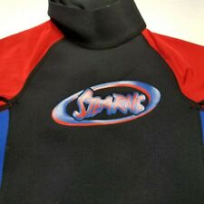 Stearns Youth Wetsuit sz M Childrens Diving Suit Swimming Red Blue Scuba F15