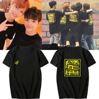 KPOP Stray Kids New Album I AM WHO Unisex T-shirt Tee T shirt Short Sleeve Tops